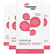 Mountain Falls Beauty Lotion, Hydrating, Non-Greasy and Absorbs Fast for Long-Lasting Moisture, Compare to Olay, 6 Fluid Ounce (Pack of 4)