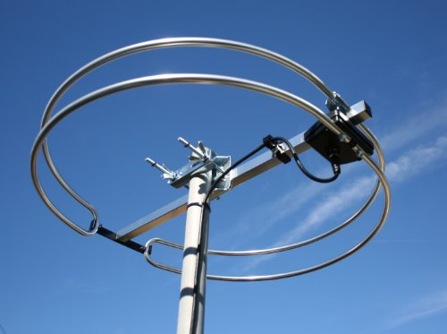 FM Loop Antenna Outdoor, Attic-mount and RV FM Antenna ()