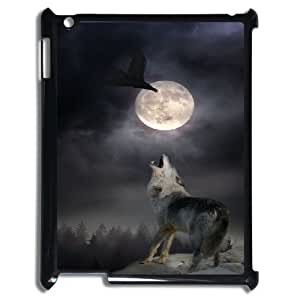 Wolf & fox Hard Plastic Back Case Cover For For iPad Case 2,3,4 color9
