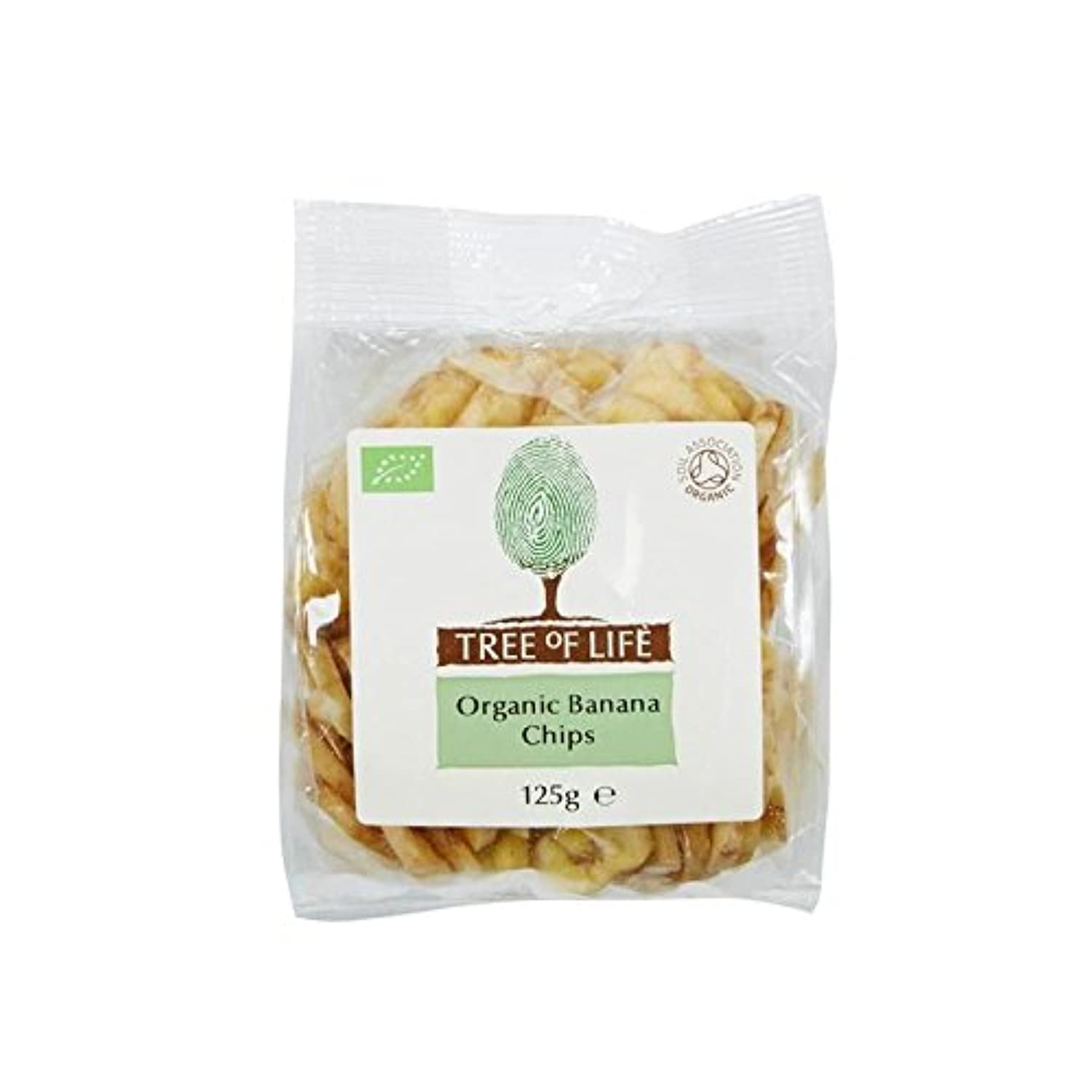 Tree of Life Organic Banana Chips 125g - Pack of 2