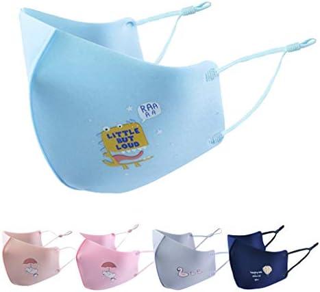 Cebbay Atmungsaktive Filter für Kinder, 3 Schichten, wiederverwendbare und waschbare, komfortable