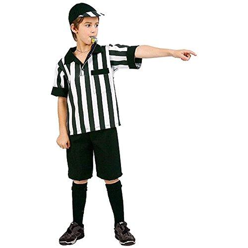 Referee Boy Kids Costume - Large -