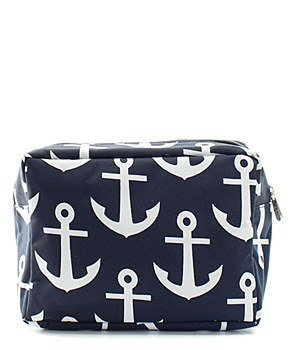 N.Gil Nautical Anchor Print Small Canvas Cosmetic Travel Bag by N.Gil (Image #3)