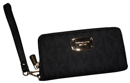 Michael Kors Multifunction Phone Case Wristlet MK SIG PVC - Michael Wallet Case Iphone Kors 4