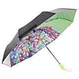 Sun Umbrella Multi Umbrella Automatic One Handed Operation Portable Water-Repelling Windproof Steady Printed Anti-UV For Travel And Business Portable Umbrella Lightweight Umbrella ( Color : B )