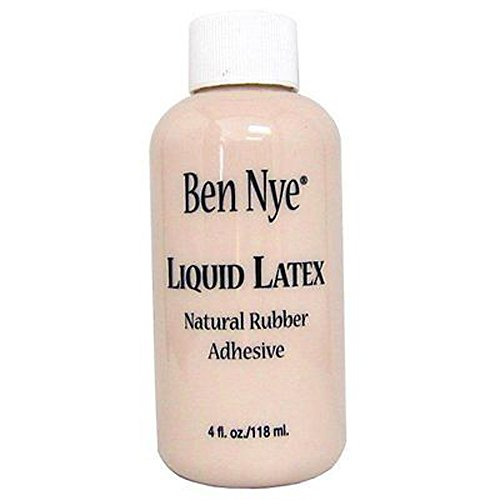 Ben Nye Liquid Latex 4 oz LL-25 Natural Rubber Adhesive