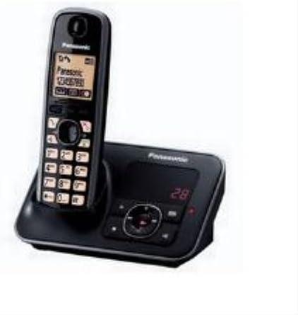 Panasonic, TG6621 Teléfono DECT inalámbrico (Individual): Amazon.es: Hogar