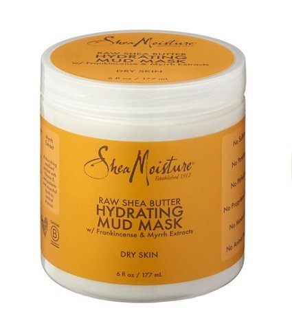 SheaMoisture Raw Shea Butter Hydrating Mud Mask, 3 pack 6 oz ea