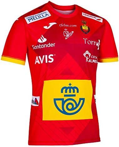 JOMA SPORT 1ª Camiseta Oficial de la Selección Española de Balonmano Roja: Amazon.es: Deportes y aire libre