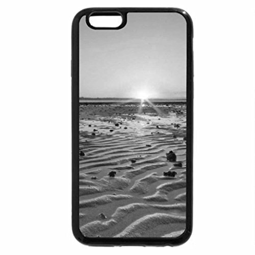 iPhone 6S Case, iPhone 6 Case (Black & White) - Ripple Sunset