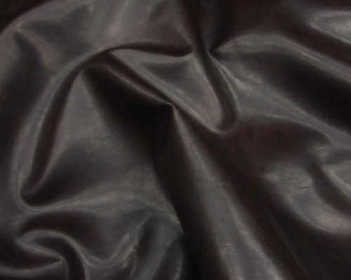 Brown Faux Leather Wet Upholstery Vinyl Fabric Per Yard Square Purple Vinyl