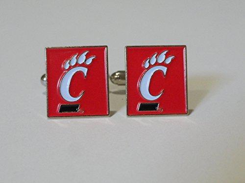 University of Cincinnati Cufflinks--Authorized Cuff Links ()