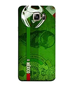 ColorKing Football Mexico 07 Green shell case cover for Samsung S6 Edge