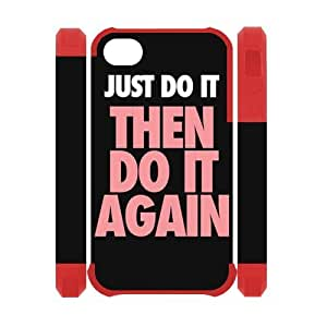 Custom Your Own Just Do It iphone 6 Case , personalised Just Do It Iphone 4 Cover by supermalls