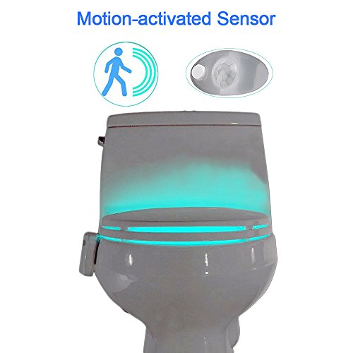 Yier Toilet Night Light With Motion Activated Sensor Buy