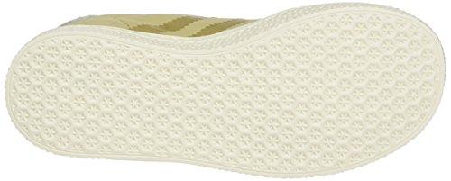 Linen Marrone Unisex Gazelle Brown Chalk White Clear Scarpe Fashion Ginnastica da Khaki adidas Bambini Basse 8azqwq