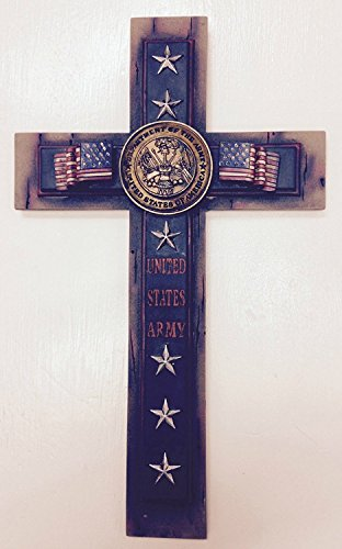 "United States Army 12"" Wall Cross"