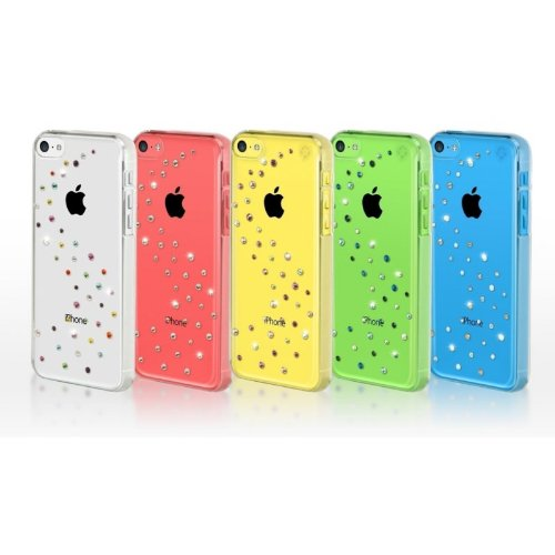 BlingMyThing ipc-mw-cl-agm Milky Way Case für Apple iPhone 5C Angel Mix