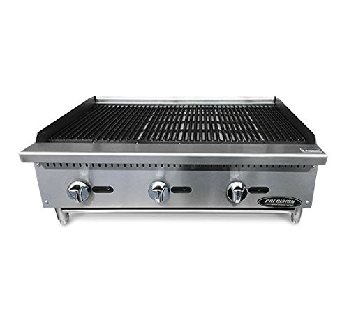 "Price comparison product image North American Restaurant Equipment 36"" Radiant Char Grill 3 Burner"