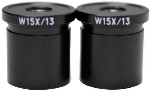 Swift Optical MA10593 W15X Eyepiece, For M27LED Series Tri-Power Stereo Microscope (Pack of 2)
