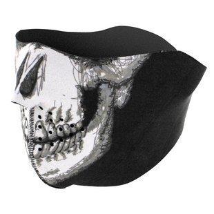 Amazon.com : Playwell Ninja Balaclava Half Face Skull Mask ...
