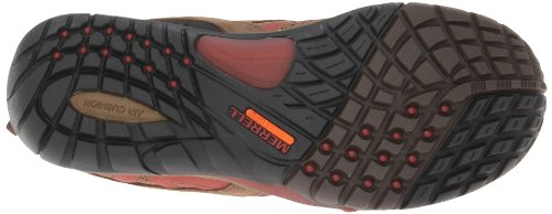 Merrell Azura zapatos de trekking impermeables Dark Earth/Red