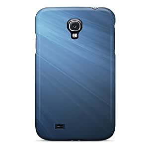 For Galaxy S4 Fashion Design Blue Gray Osx Case-Fgl3356LUrW