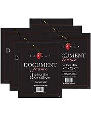 MCS Format Frame, Black, 8.5 x 11 Inch
