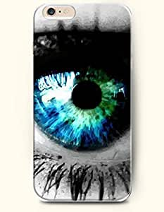 New Case Cover For SamSung Galaxy Note 4 Hard Case Cover - Penetrating Blue Eye