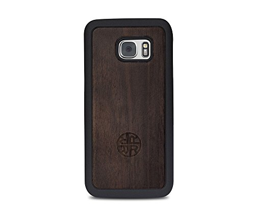 - Bamboo Wood Case - Compatible with Galaxy S8 - Natural Eco-friendly Design with Added Bumper Protection by Reveal (Wood)