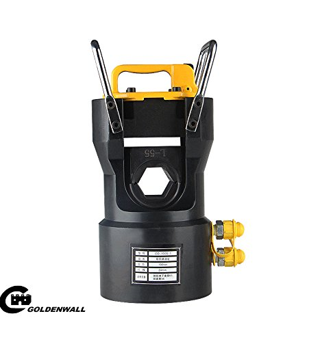 CGOLDENWALL  CO-100S大トン数二回路手動電動油圧式圧着ペンチ ACSR圧着工具 圧着能力:スチールアルミ端子套管Ø65㎜、銅套管800㎜² 100T (ダイス付き) B077N61438 ダイス付き