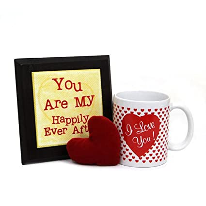 Fixture Of Romance Valentine Gift With Mug N Photoframe Gifts110214