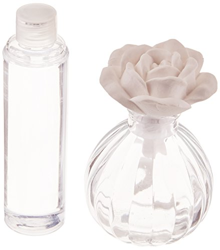 Blossom and Bliss Scented Bottle Diffuser, 4-1/2-Inch, Rose Fragrance, Bless This Home Sentiment