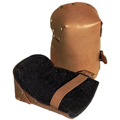 ALTA 30903 Pro Leather Kneepad, Buckle, Capless, Beige by Alta