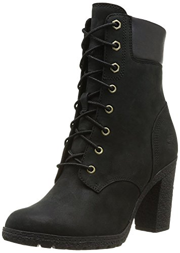 Timberland Women's Earthkeepers Glancy 6'' Boot,Black,8 D(W) US by Timberland