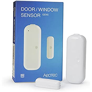 Aeotec by Aeon Labs ZW120 Door / Window Sensor, Small, White