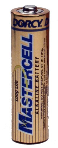 Dorcy Mastercell Alkaline Batteries with 5-Year Shelf Life, 24-Pack (41-1636)
