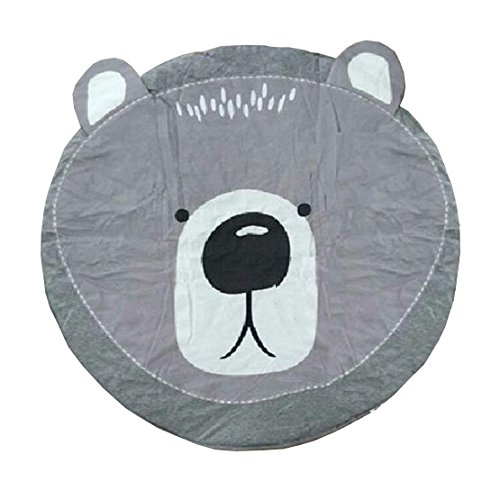2017 Childrens Room Decoration Muslin Swaddle Cute Baby Play Mat Bunny Bear Rug Cart Cover Kids Air Conditioning Rabbit Blanket (Octagonal Silk Rug)