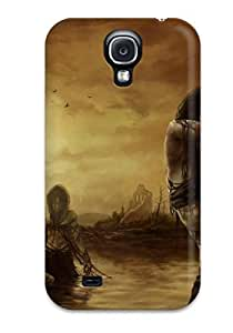 High Quality MeaganSCleveland Zombie Ladies From The Lake Skin Case Cover Specially Designed For Galaxy - S4