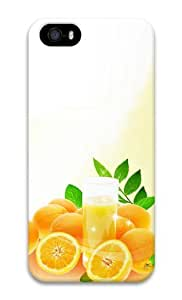 Fruit orange 3D Case unique iphone 5S covers for Apple iPhone 5/5S by runtopwell