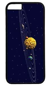 3d Sun System art Masterpiece Limited Design PC Black Case for iphone 6 plus by Cases & Mousepads