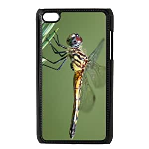 Custom Dragonfly Design Plastic Case for Ipod Touch 4 4th Generation