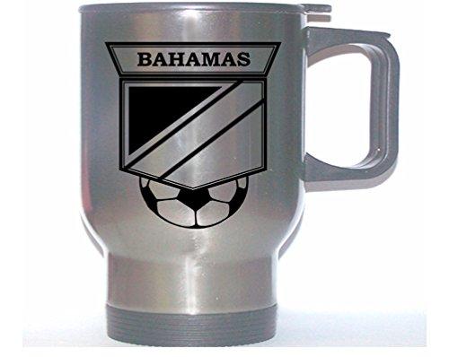 Bahamas National Team Soccer Stainless Steel Mug