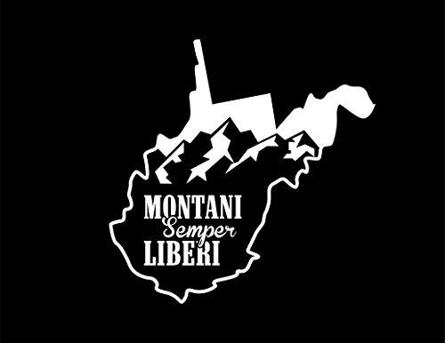 Montani Virginia Sticker 5 5 Inches 5 4 Inches
