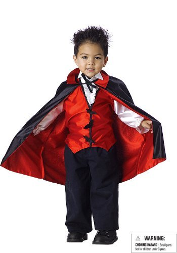 Vampire Costume - Toddler Large