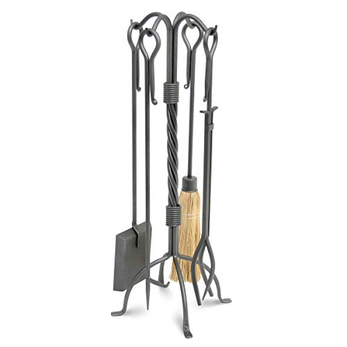 (Pilgrim Home and Hearth 18007 Traditional Fireplace Tool Set, 31