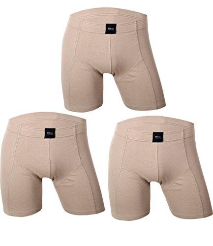 Performance Drawstring Brief (Godsen Men's 3-pack Performance Boxer Briefs Sexy Underwear(Khaki,XL))