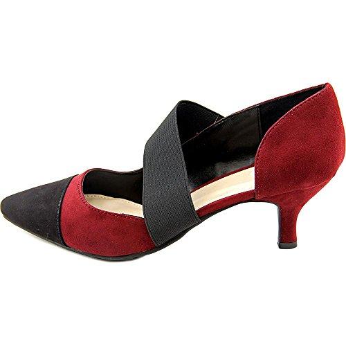 Madeline Dames French Kiss Slip-on Rood Zwart