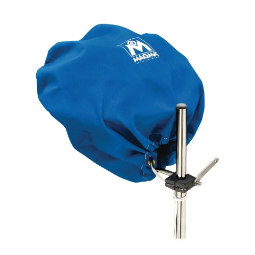 Magma Marine Kettle Grill Cover - Magma Grill Cover For Kettle Grill - Party Size - Pacific Blue