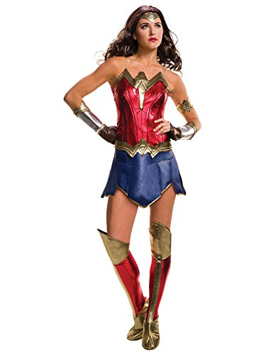 Rubie's Adult Batman V Superman: Dawn of Justice- Deluxe Wonder Woman Costume